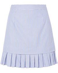 Maggie Marilyn Mini Skirt - Blue