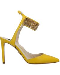 Rodo Court Shoes - Yellow