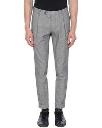 Michael Coal Casual Trousers - Grey