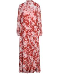 Julia June Long Dress - Red