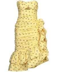 Vivetta Knee-length Dress - Yellow