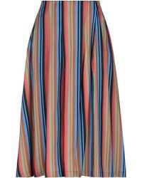 5preview Midi Skirt - Blue