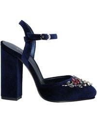 Le Silla Sandale - Blau