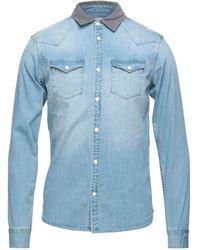 AllSaints Camicia jeans - Blu