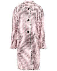 Kate Spade Overcoat - Pink