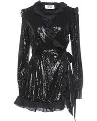 Gina Short Dress - Black