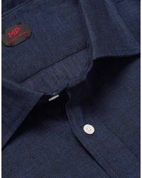 Mp Massimo Piombo Camisa - Azul