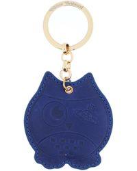 Vivienne Westwood Key Ring - Blue