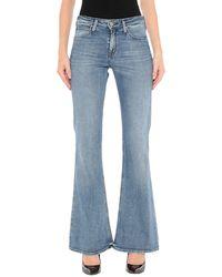 Lee Jeans Denim Trousers - Blue