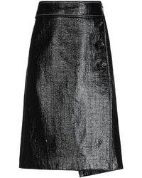Marni Knee Length Skirt - Black