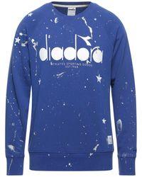 DIADORA by THE EDITOR Sweatshirt - Blau