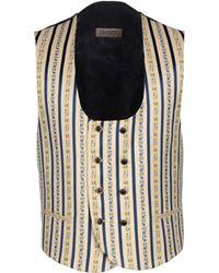 Carlo Pignatelli Waistcoat - Blue