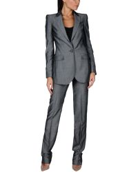Burberry Women's Suit - Gray