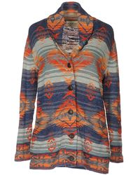 Denim & Supply Ralph Lauren - Knitted Aztec-print Blazer - Lyst