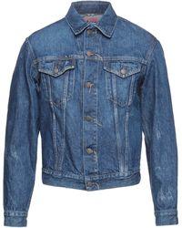 Acne Studios Denim Outerwear - Blue