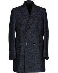 Angelo Nardelli Coat - Blue
