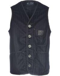 Armani Jeans - Waistcoat - Lyst