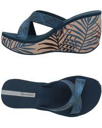 Ipanema Sandals - Blue
