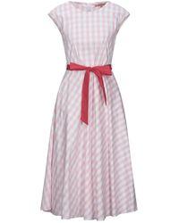 LA CAMICIA Midi Dress - Pink