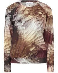 Satine Label Sweatshirt - Grey