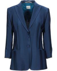 ..,merci Suit Jacket - Blue