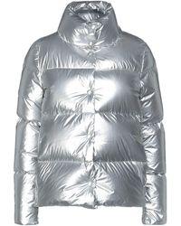 Add Down Jacket - Metallic