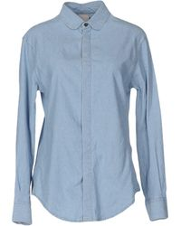 People - Denim Shirt - Lyst