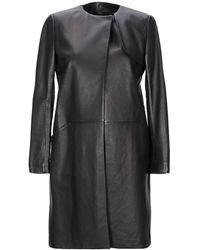 Helmut Lang Overcoat - Black