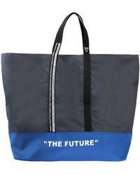 Daniele Alessandrini Homme Travel Duffel Bags - Blue