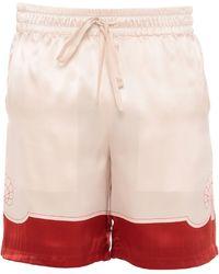 CASABLANCA Shorts & Bermuda Shorts - Pink