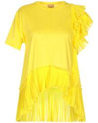 Nude T-shirt - Yellow