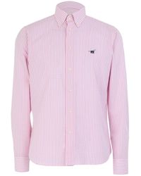 Henry Cotton's Camisa - Rosa