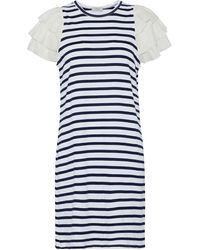 CLU Short Dress - White