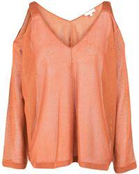 INTROPIA Pullover - Naranja