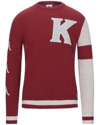 Kappa Pullover - Rosso