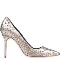 Manolo Blahnik Zapatos de salón - Metálico