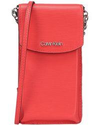 Calvin Klein Cross-body Bag - Red