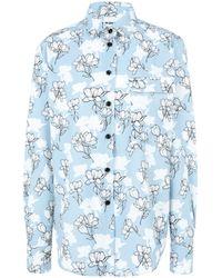 Au Jour Le Jour Shirt - Blue