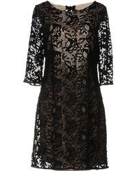 INTROPIA Short Dress - Black