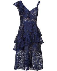 Alice + Olivia Knee-length Dress - Blue