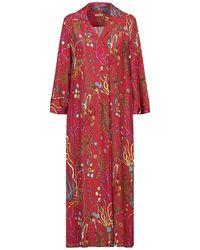 Camicettasnob 3/4 Length Dress - Red