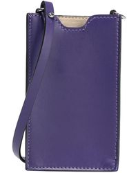 8 by YOOX Cross-body Bag - Purple