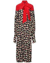 ROKH Robe longue - Multicolore