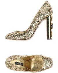 Dolce & Gabbana Decolletes - Metallizzato