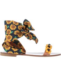 Elina Linardaki Sandals - Yellow
