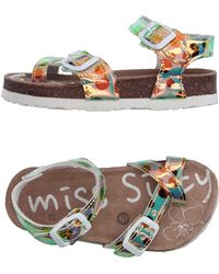 Miss Sixty - Toe Strap Sandal - Lyst