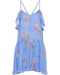 Love Sam Short Dress - Purple