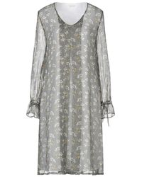 Massimo Alba Midi Dress - Grey