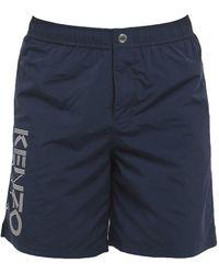 KENZO Swimming Trunks - Blue