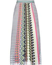 Anonyme Designers 3/4 Length Skirt - Grey